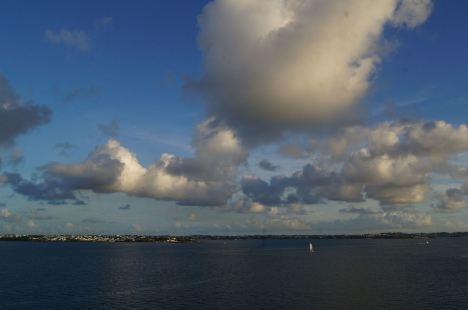 Caribbean clouds . . .